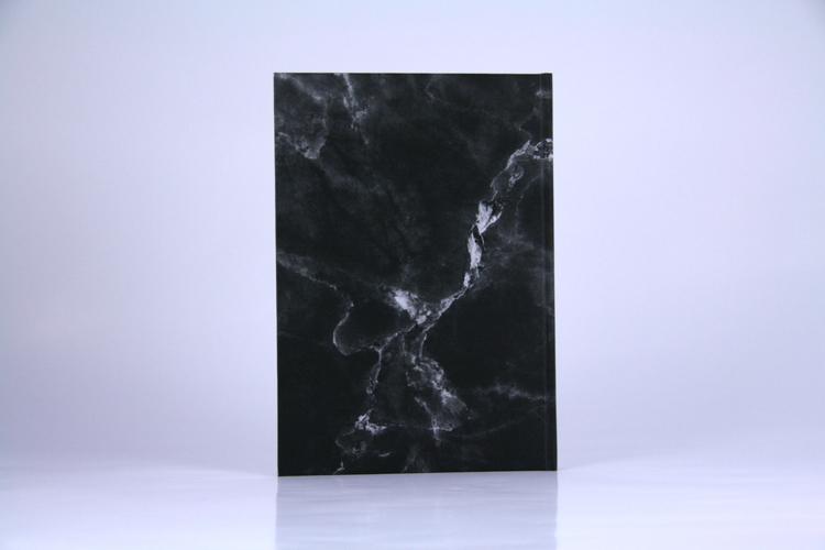 "Notizbuch ""marble black"" Marmor schwarz Planyourlife"