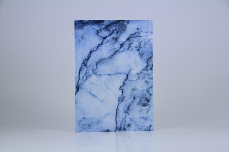 "Notizbuch ""marble blue"" Marmor blau Planyourlife"