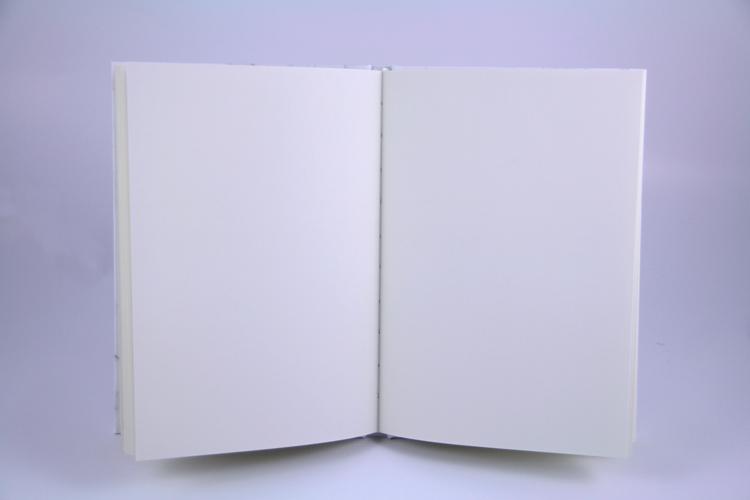"Notizbuch ""marble white"" blanko Marmor weiß Planyourlife"